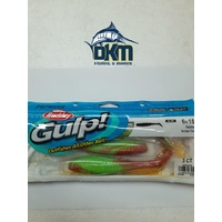 "Berkley Gulp Paddle Shad 6"" Nuclear Chicken"