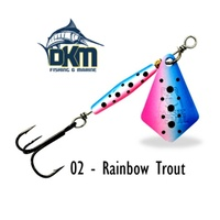 Devil Blade 02 5.4g Rainbow Trout